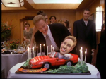 I want this cake for my birthday. I don't mean one with me in a car. I want this exact cake